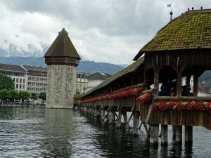 Lucerne-Wooden Bridge (2)